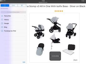 Push chair 3 in 1