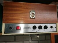 Vintage Coomber and Worcester record player