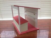 1:12th Scale Market Stall. dolls house. made and painted.