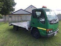 Isuzu nkr plant truck