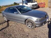 Bmw coupe 320d diesal manual