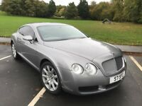 05 plate Bentley continental 6.0 GT full history and years mot