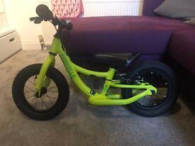 Used Pinnacle Tineo Balance Bike for £40, RRP £90