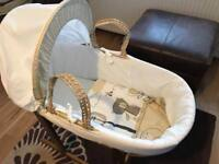 Kinder Valley Moses Basket Bundle