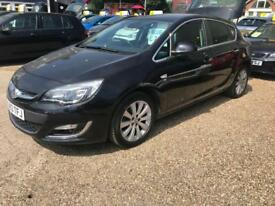 VAUXHALL ASTRA 1.6 SE 5d AUTO 115 BHP Apply for finance Online today! (black) 2013