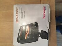 raymarine dragonfly 5pro sonar gps fishfinder with trans ducer and maps brand new