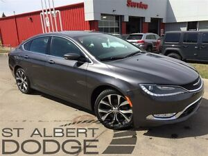 2015 Chrysler 200 C | AWD | PANORAMIC SUN | BACK CAM | LEATHER