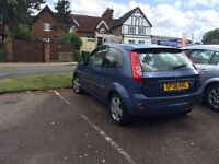 FORD FIESTA 1.4 ZETEC CLIMATE 3 DR 2006 REDUCED TO £1250.00 O.N.O