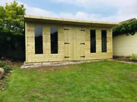 heavy duty summerhouse and sheds