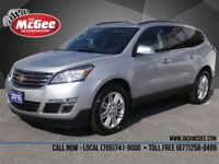 2015 Chevrolet Traverse LT AWD - True North Edition, Sunroof