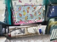 Lot of fabric/material for sewing and crafts