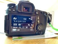 Canon EOS 70D (W) - Immaculate condition - Boxed - **PRICE DROP**