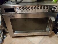 commercial microwave Samsung FAULTY