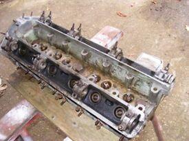Jaguar Mk2 3.4 Cylinder Head.