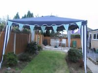 Garden gazebo 3mx3m ,blue