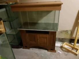 Aquarium for sale 41x18x21