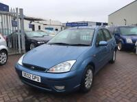 2002 02 FORD FOCUS GHIA MODEL TURBO DIESEL CHEAP WELL MAINTAINED GENUINE CAR IN SUPERB CONDITION MOT