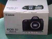 Canon 5D mark IV body brand new boxed mark 4