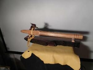 Dragon in Walnut flute hemlock Key of F# - Native American Style Flute