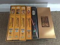 Star Wars and Indian Jones VHS