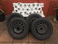 """BMW 16"""" Steel Winter Wheels & Tyres"""