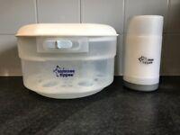 Tommee Tippee microwave steriliser & travel bottle warmer