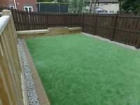 Evergreen artificial grass installations