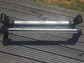 Genuine BMW lockable roof bars
