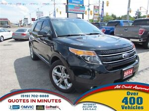 2014 Ford Explorer LIMITED   4X4   LEATHER   NAV   PANO ROOF