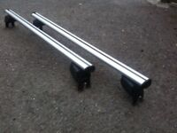 Atera SIGNO ASF Fixpoint aluminium roof bars for Renault Scenic 03-09