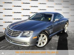 2005 Chrysler Crossfire Limited PST PAID***V6 POWER***LOW KM's