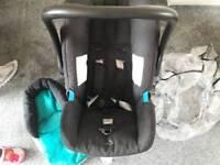Britax car seat and rain cover etc