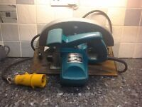 makita circular saw 266 m blade hard top blade can be seen working powerful 110 volt