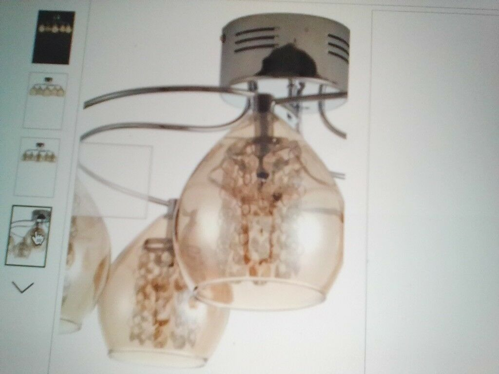 lowest price dd1b6 305f9 Flush Fitting Ceiling Light Bella 5 Light By Next - Current range £99 New |  in Chatham, Kent | Gumtree