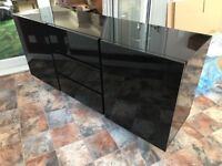 Black Gloss Sideboard