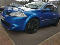 2005 Renault Megane RS 225 Sport not r26 f1 team vxr cupra fr st type r 330d turbo wrx