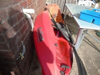 Go Sea Kayak with Paddle Seat and wheels