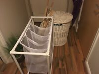 3 washing baskets