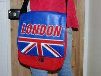 Retro urban access pizza courier messenger bag london Mens Womens