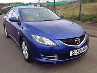 (58) Mazda 6 1.8 , mot - March 2017 , service history , 2 owners ,mondeo,vectra,avensis,accord
