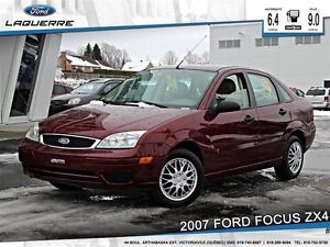 2007 Ford Focus **ZX4*5 VITESSES*BAS KM**