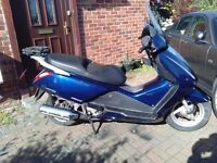 2005 Honda Pantheon FES 125 maxi scooter, automatic, MOT, use on CBT, cheap insurance, ride away ,,,