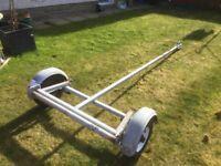 Bramber road trailer. Suitable for Laser Dinghy or similar