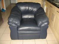 Black Leather Armchair