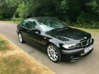 BWM 325i SPORT AUTOMATIC 2002 MOTD LOOKS AND DRIVES THE BEST TEL;07534348681