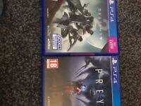 Destiny 2 and prey