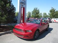 2013 Ford Mustang V6 Convertible Premium, intérieur cuir,