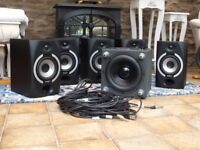 Tannoy Reveal 601A Surround Sound Studio Monitor System – COLLECTION ONLY