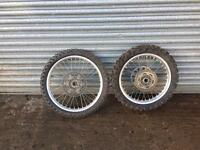 Yamaha 250f mx wheels