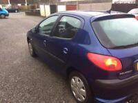 2004 Peugeot 206 1.4 hdi 12 mot £30 tax